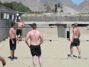 More Army volleyball