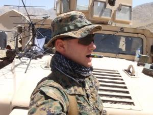 Marine Captain Matthew Freeman