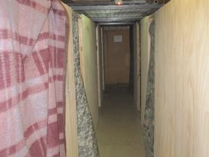 B-hut hallway