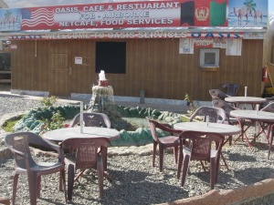 Cafe at FOB Airborne