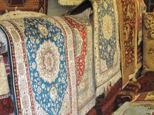 Chinese made silk rugs $500 a piece