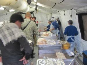 DFAC at FOB Airborne