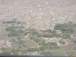 Populated village in Logar Province.